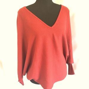 Kerisma V-neck Batwing Pullover Sweater S/M